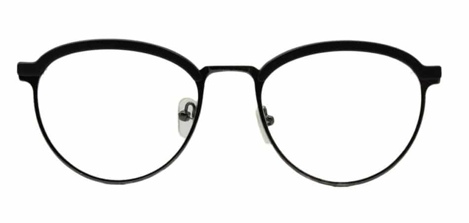 Silver Browline Glasses Sf 9856 4