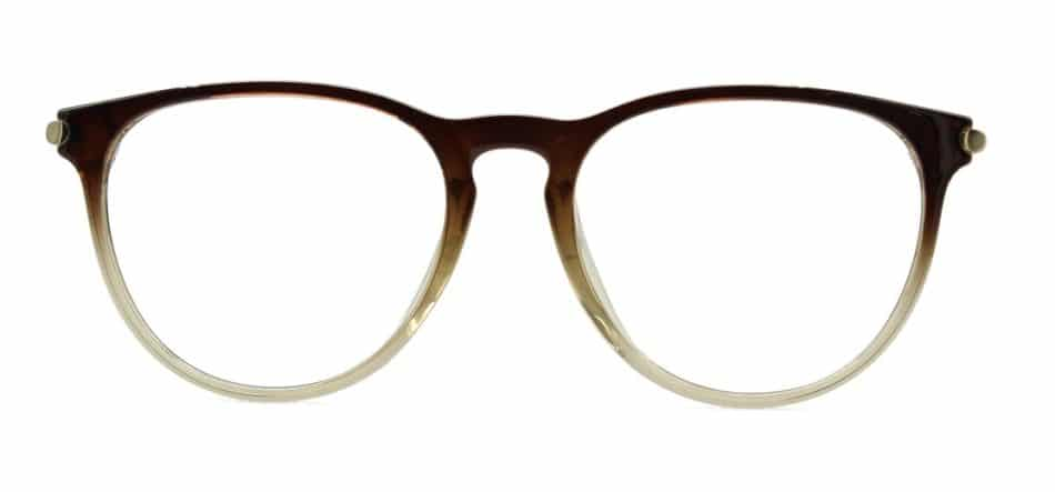 Brown Round Glasses Sf 984 4