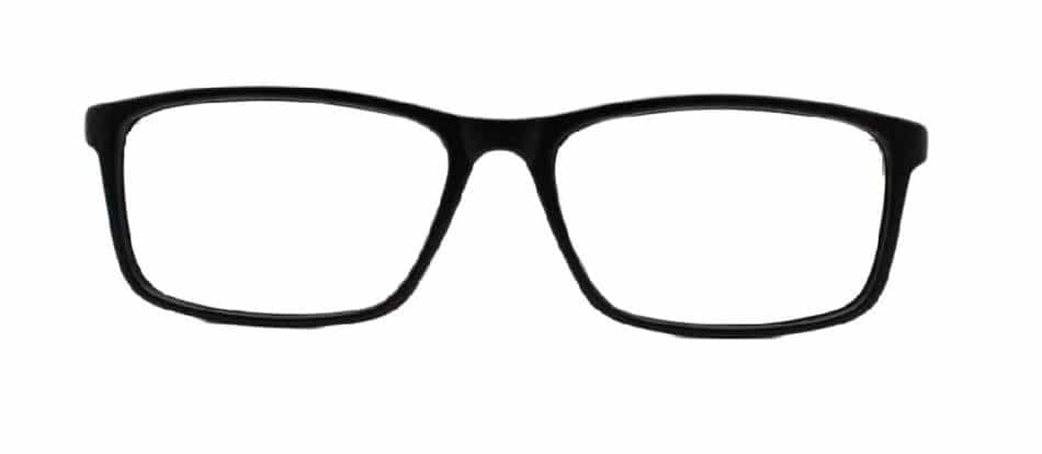 Black Rectangle Glasses Ever 131126 4