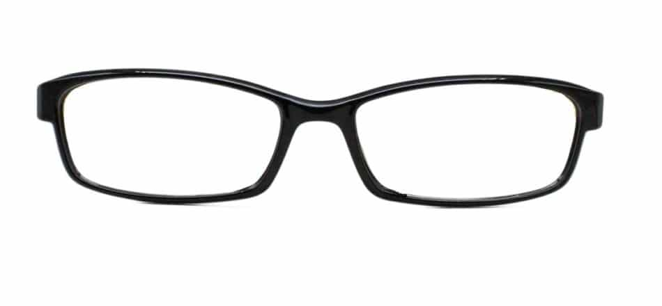 Black Rectangle Glasses 25111 4
