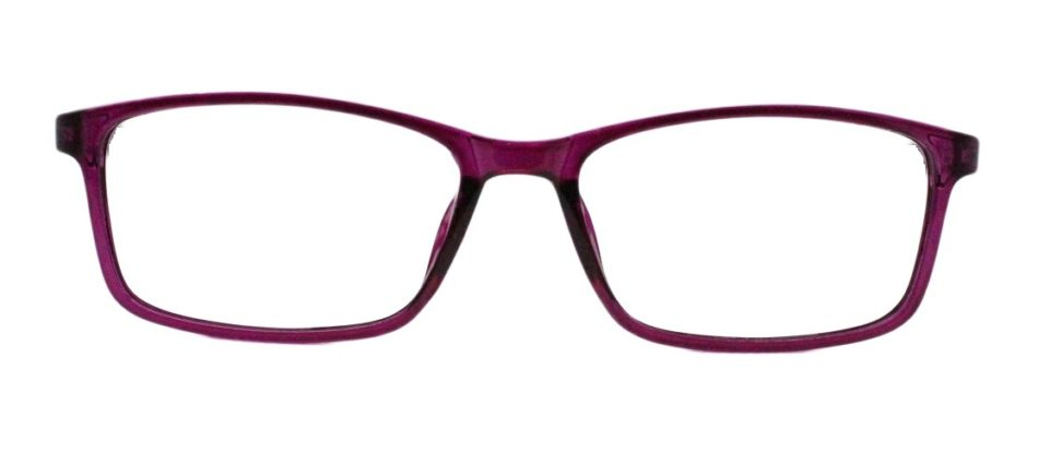 Purple Rectangle Glasses 220216 4