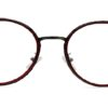 Red Round Glasses 200436 8