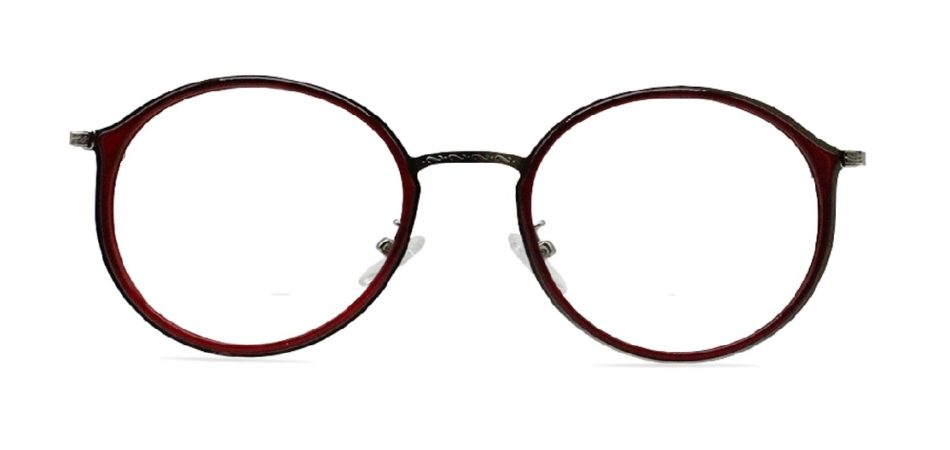 Red Round Glasses 200436 4