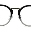 Black Round Glasses 200436 8