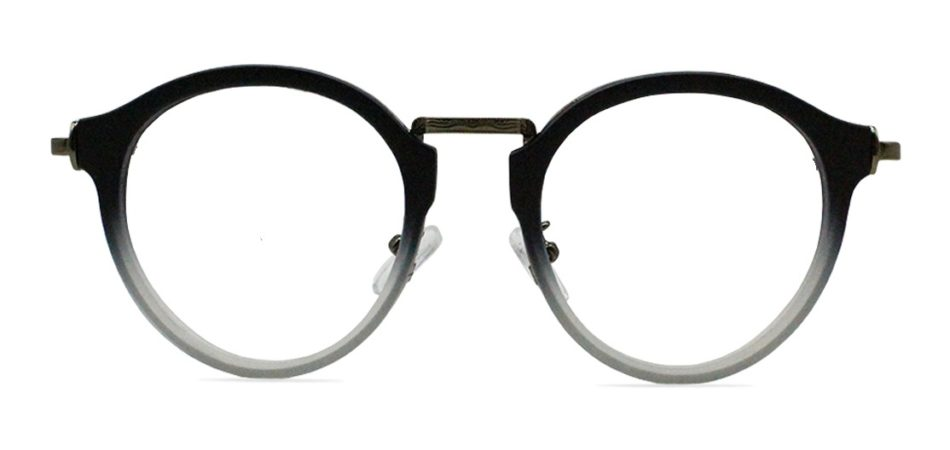 Black Round Glasses 200436 4