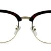 Red Tortoise Browline Glasses 200437 8
