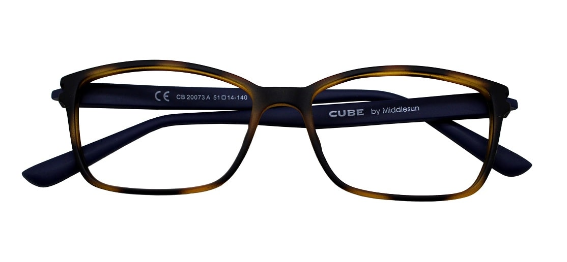 Brown Rectangle Glasses 211114 - Buy Glasses Online Canada ...