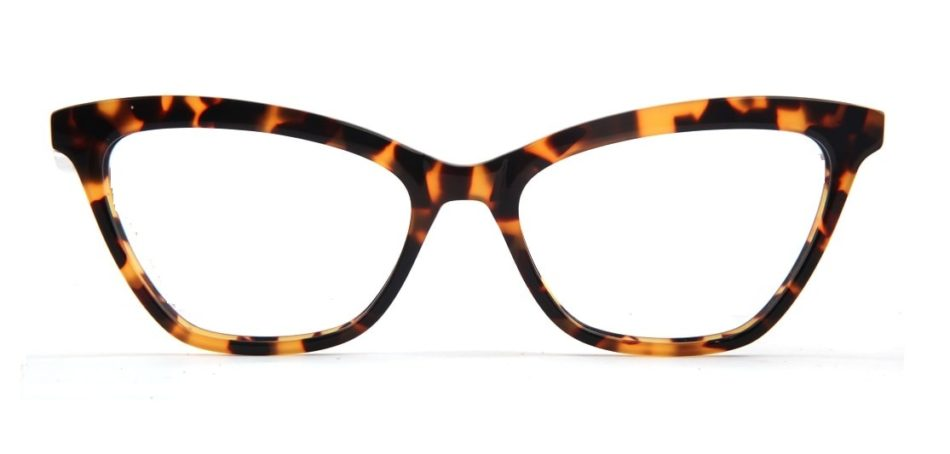 Brown Cat-eye Glasses 050826 4