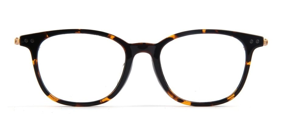 Brown Tortoise Square Glasses 050711 4