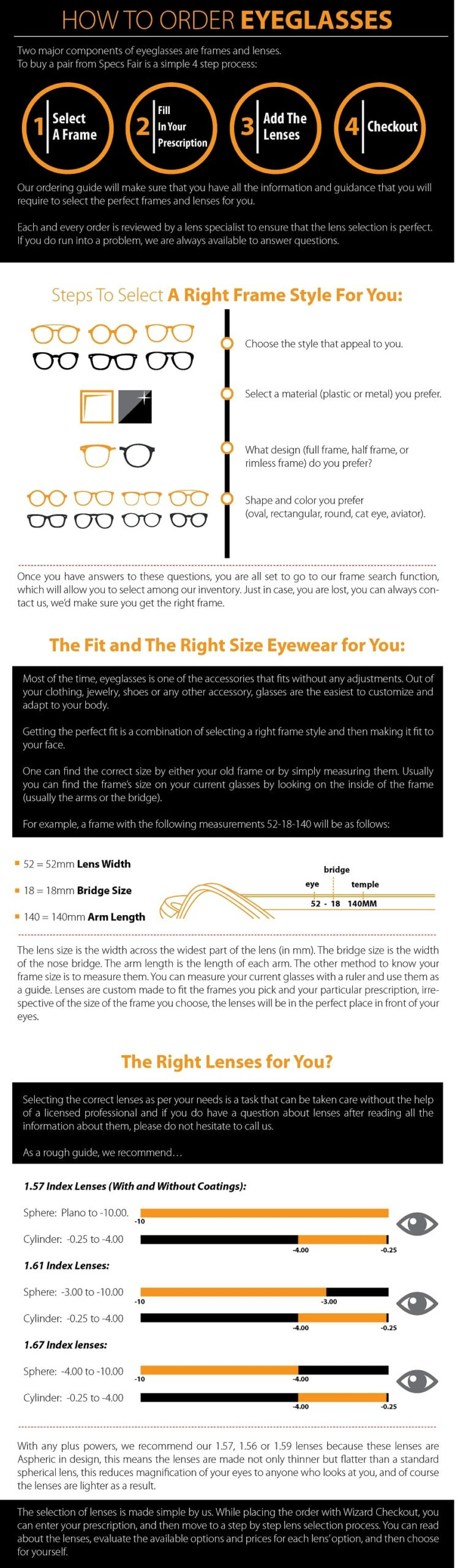 How to order eyeglasses with Specs Fair 1