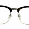 Brown Tortoise Browline Glasses 200435 8