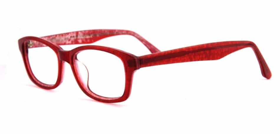 Red Oval Glasses 310520 2