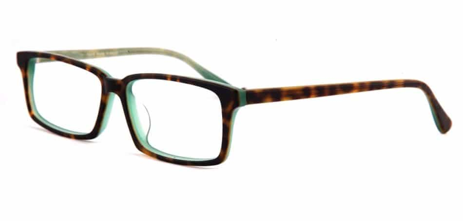 Square Tortoise Glasses 310521 2