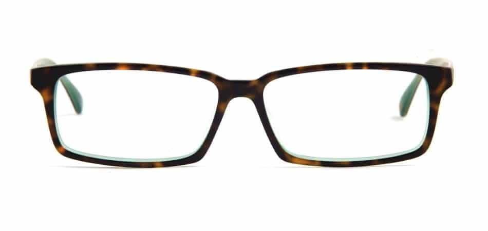 Square Tortoise Glasses 310521 3