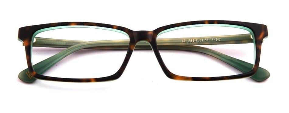 Square Tortoise Glasses 310521 1