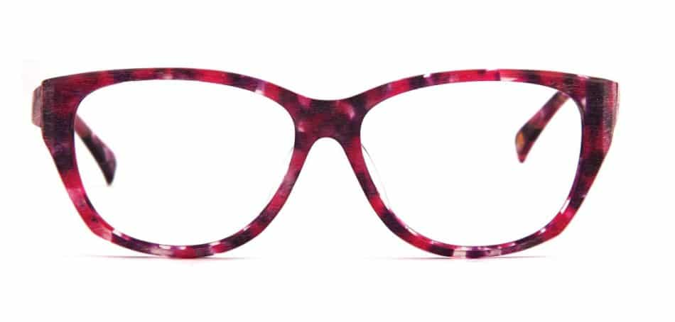 Cat Eye Pink-Red Glasses 310523 3