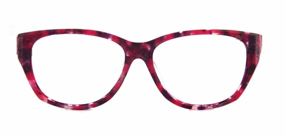 Cat Eye Pink-Red Glasses 310523 4