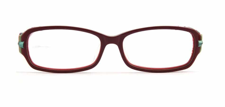 Purple Square Curve Glasses 3105245 4