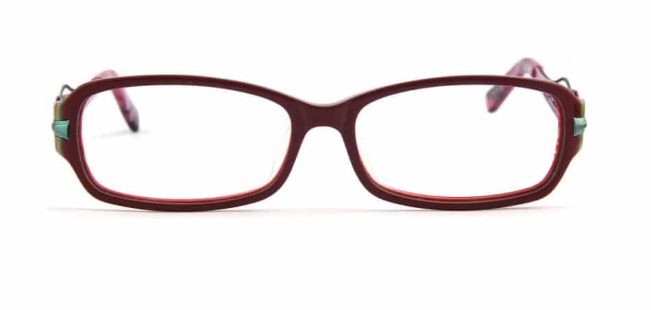 Purple Square Curve Glasses 3105245 2