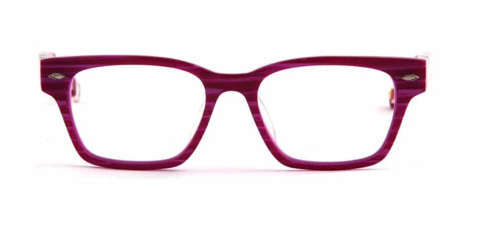 Square Pink-White Glasses 3105246 3