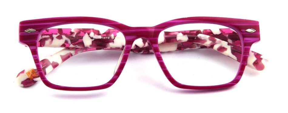 Square Pink-White Glasses 3105246 1