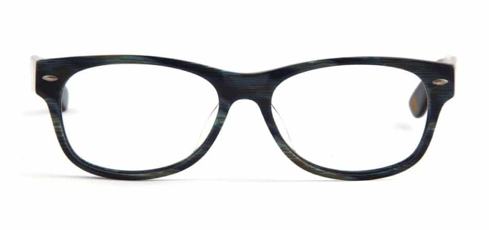 Black Blue Textured Glasses 3105247 3