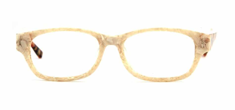 Creamy Rectangle Glasses 31052412 3