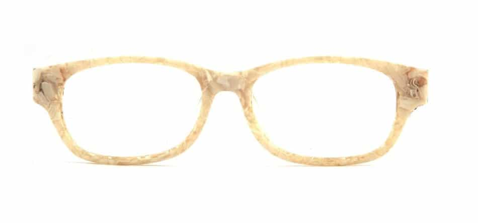 Creamy Rectangle Glasses 31052412 4