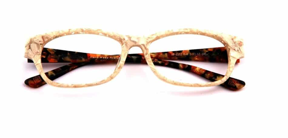 Creamy Rectangle Glasses 31052412 1
