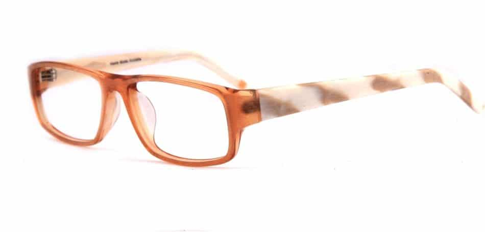 Brown Rectangle Glasses 31052416 2