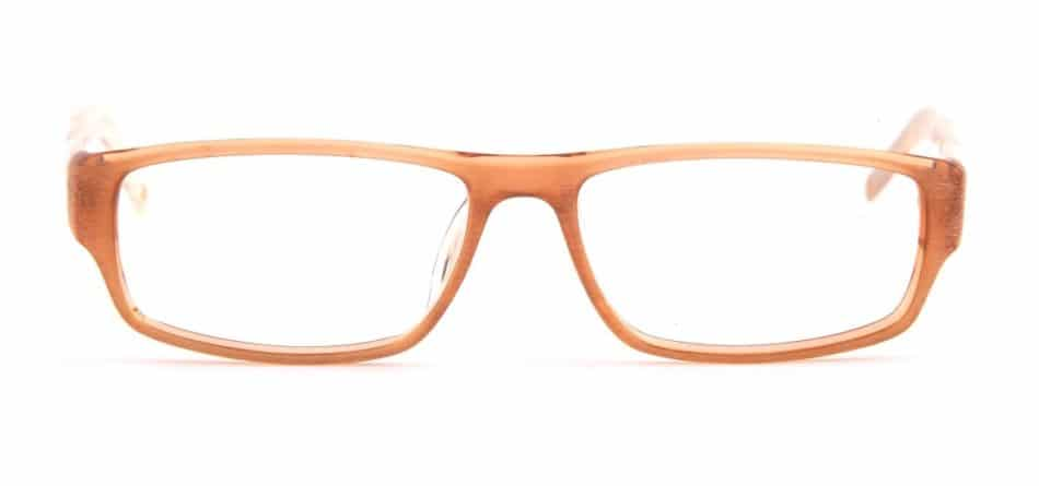 Brown Rectangle Glasses 31052416 3