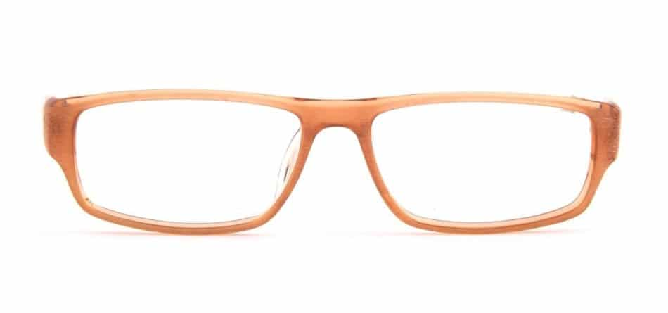 Brown Rectangle Glasses 31052416 4