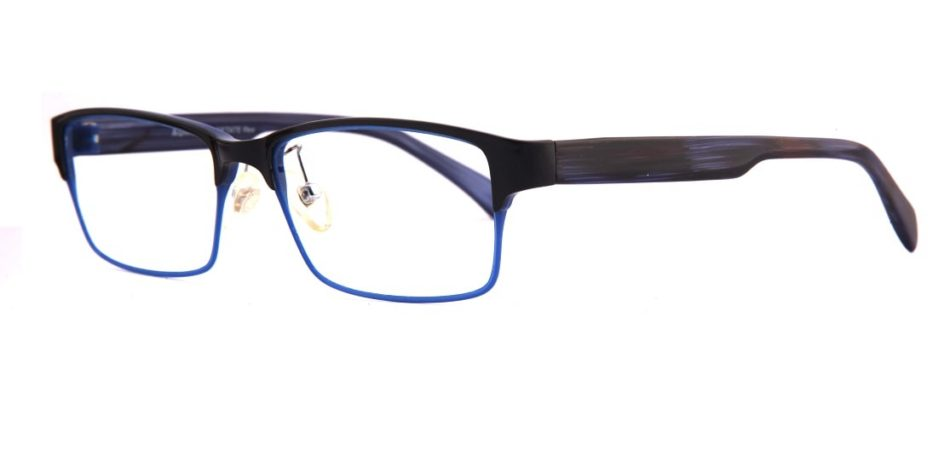 Black Blue Glasses 310596 2