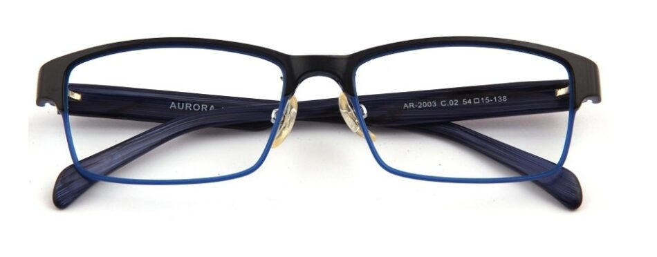 Black Blue Glasses 310596 1