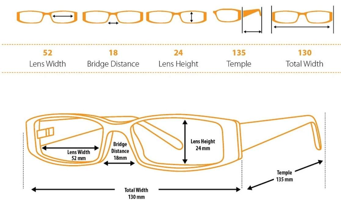 Glasses Measurement Guide 2
