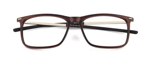 Brown Rectangular glasses