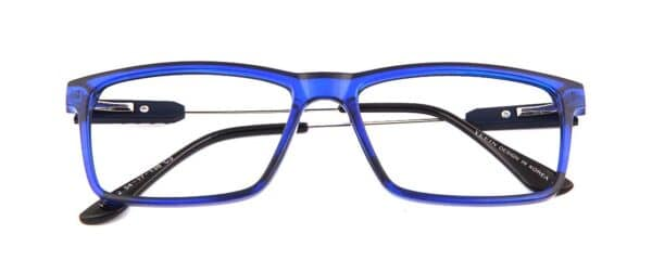 blue Rectangular glasses