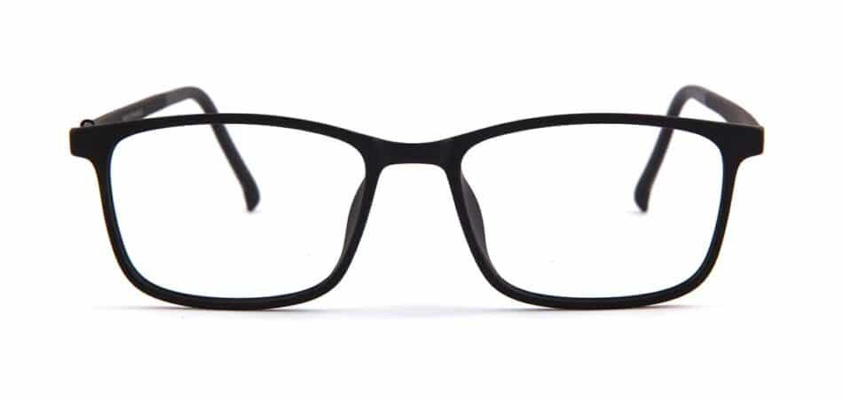Black Rectangle Glasses 130727 1