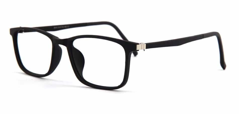 Black Rectangle Glasses 130727 2