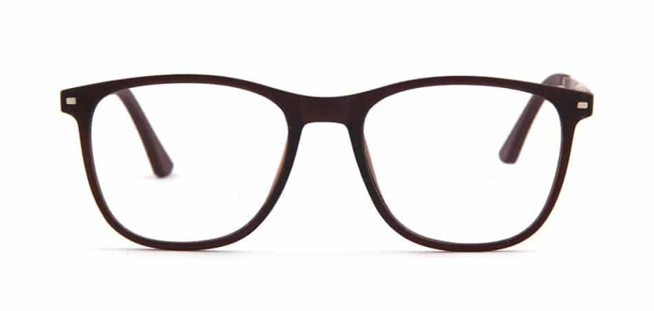 Brown Rectangle Glasses 130728 1