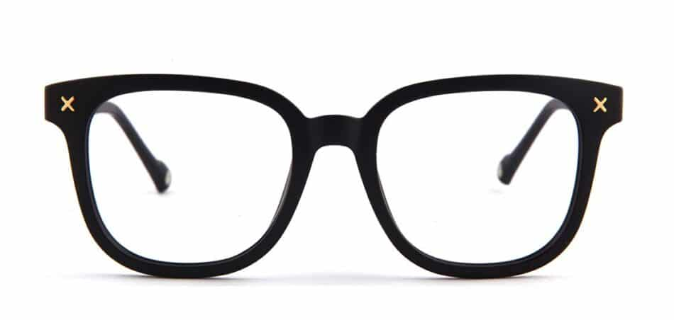 Black Square Glasses 130748 3