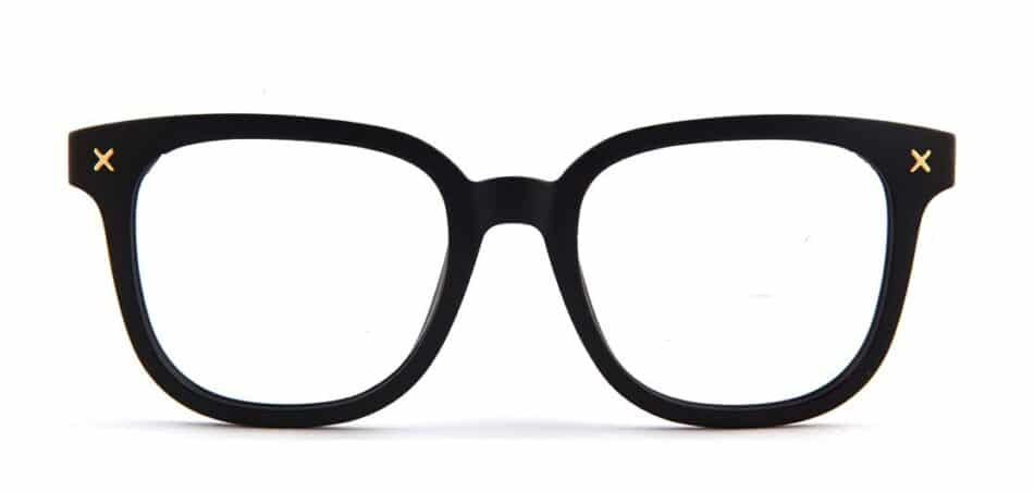 Black Square Glasses 130748 4