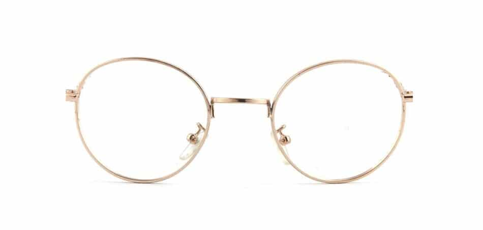 Round metal Glasses 130722 3