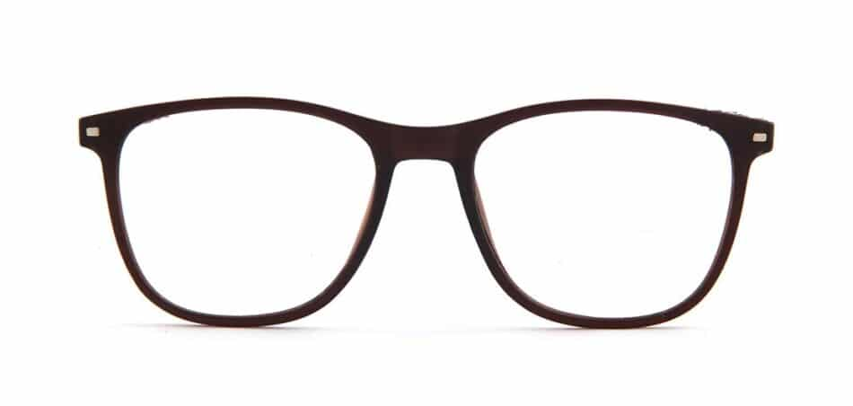 Brown Rectangle Glasses 130728 3