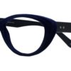 Blue Velvet Cat Eye Glasses 201123 6