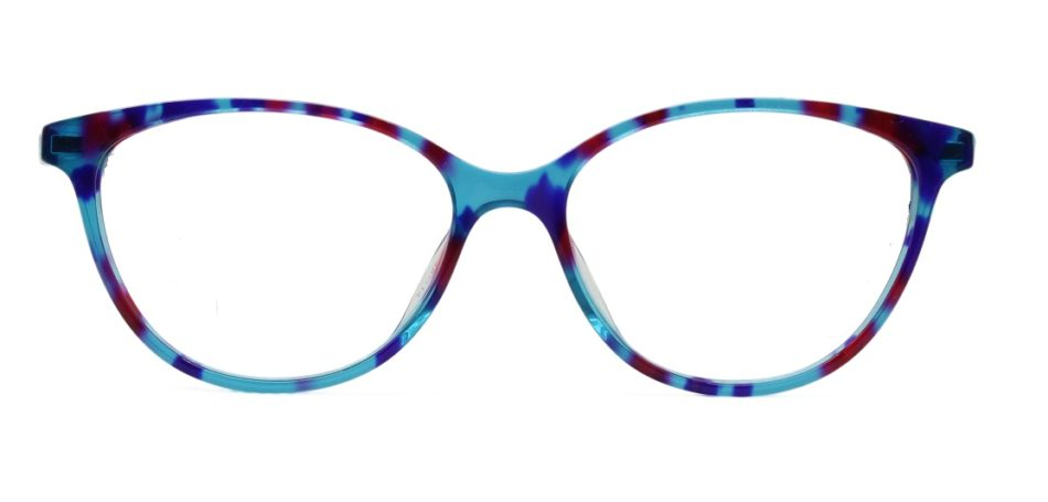 Floral Cat Eye Glasses Sf 9854 4