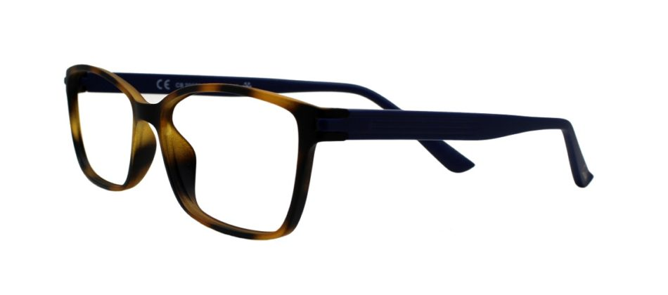 Brown Rectangle Glasses 211114 2