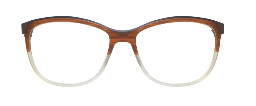 Brown Round Glasses Sf 9867 2