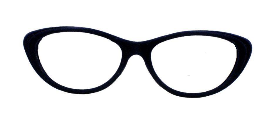 Blue Velvet Cat Eye Glasses 201123 4