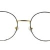 Golden Round Glasses 231117 7